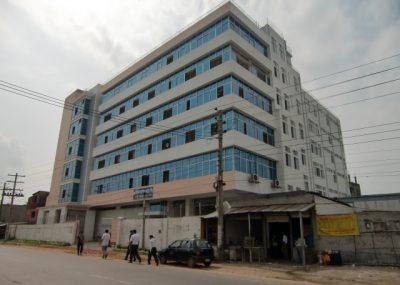 バングラデシュ 合弁工場外観