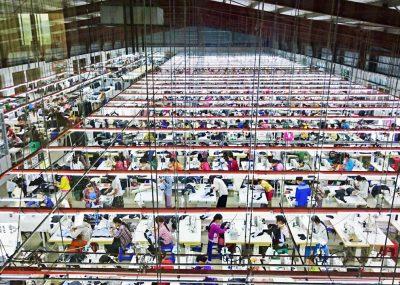 ミャンマー 2工場全景