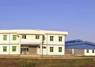 ミャンマー JMKS工場全景