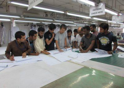 バングラデシュ 業務指導